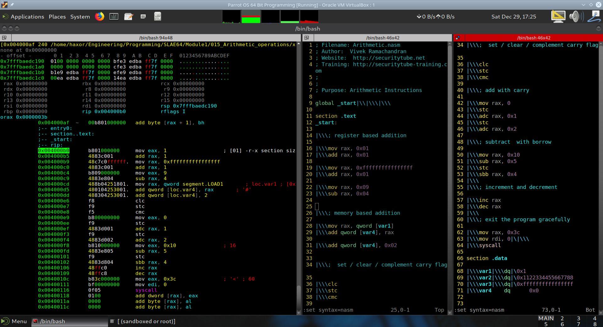 MK Dynamics - Computer Security - SLAE64 - SecurityTube